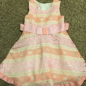2T Lace Toddler Dress, VGUC